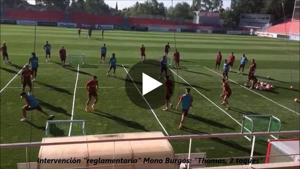 Filmpje 3: Training van Diego Simeone