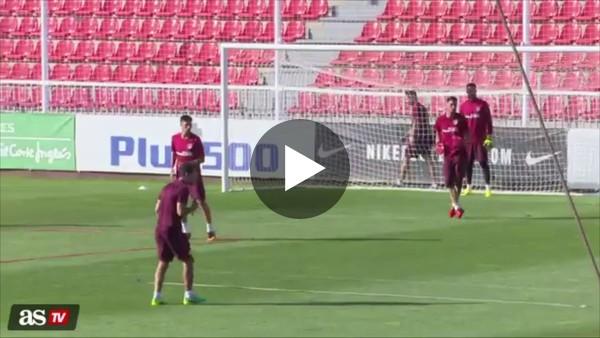 Filmpje 4: Training van Diego Simeone