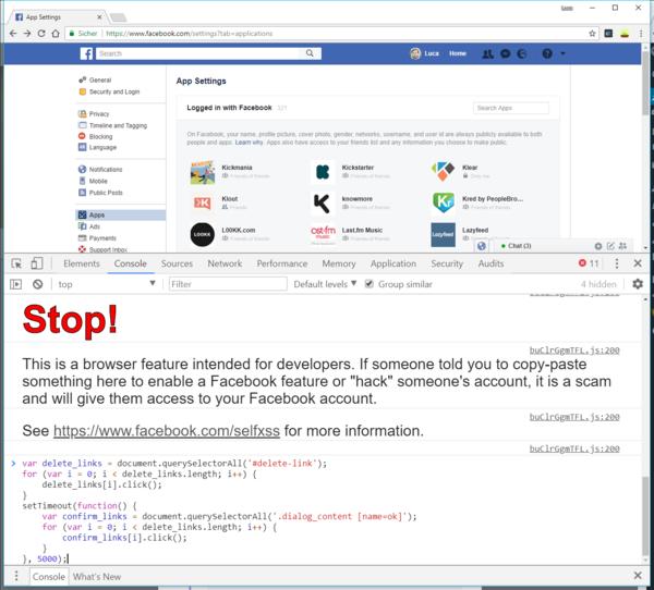 So könnt ihr alle Facebook-Apps auf einen Schlag entfernen