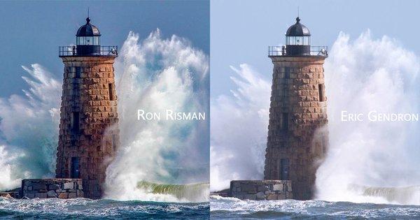Wie zwei Fotografen unabhängig voneinander im selben Moment ein fast identisches Foto aufnahmen