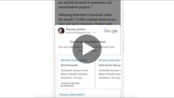 Introducing Subscribe with Google - YouTube
