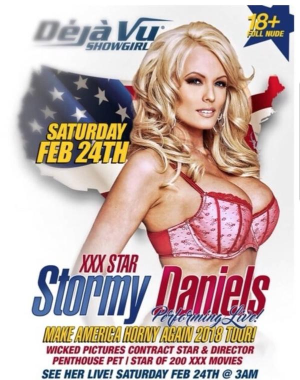Make America Horny Again © Stormy Daniels' Instagram