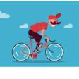 Pure CSS Biker