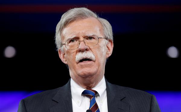 John Bolton is de nieuwe veiligheidsadviseur van Trump (foto: Reuters)