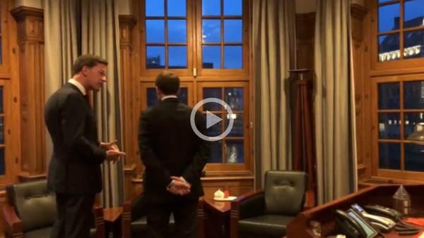 Buddies: Mark and Macron