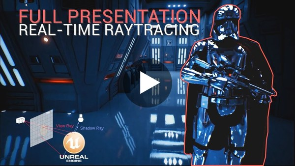 Unreal Engine Real-time Raytraced Star Wars