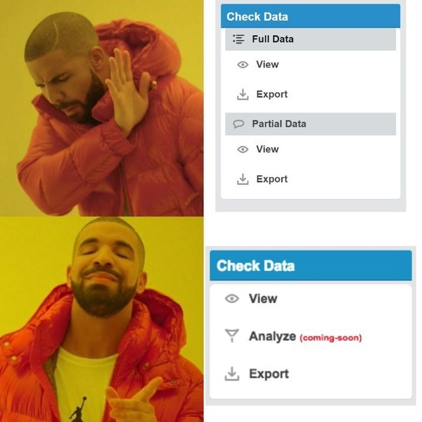 Even Drake likes the New Data View!