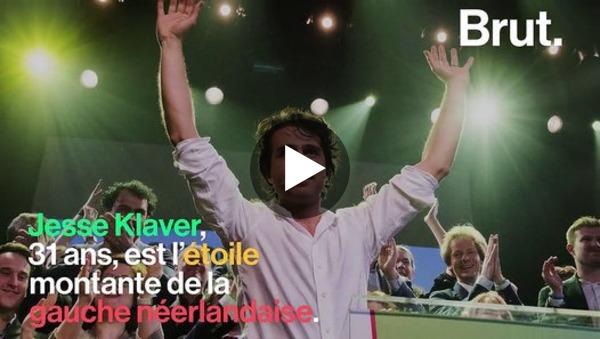 Qui est Jesse Klaver, l'étoile montante de la gauche néerlandaise ? - Video Dailymotion