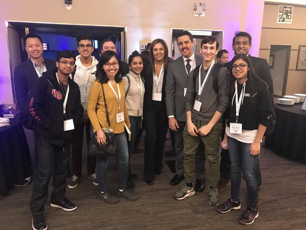 Left to right: Vincent Hong (Microsoft), Sameer (TKS), Areez (TKS), Me, Kevin Magee (Microsoft), Shagun (TKS), Emma De Silva (Microsoft), Ahmed Adel (Microsoft), Shalev (TKS), Zaynah (TKS)