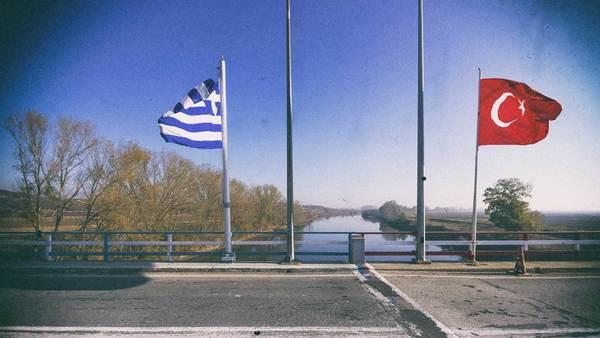 De Turks-Griekse grens