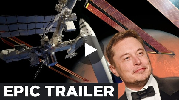 BFR TRAILER: Elon Musk's Real Reason for Colonizing Mars with SpaceX