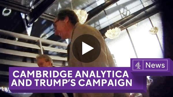 Cambridge Analytica: Undercover Secrets of Trump's Data Firm - YouTube