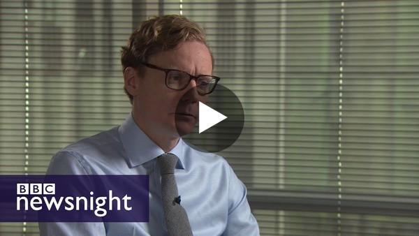 Exclusive: Alexander Nix - BBC Newsnight - YouTube