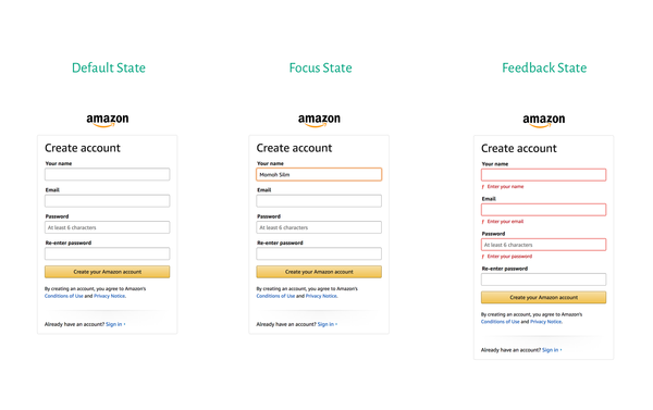 Creating User-friendly forms