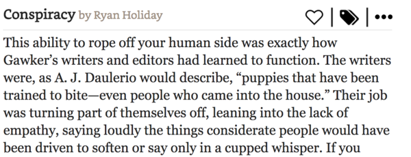 Gawker writers learned to switch off their empathy for others.