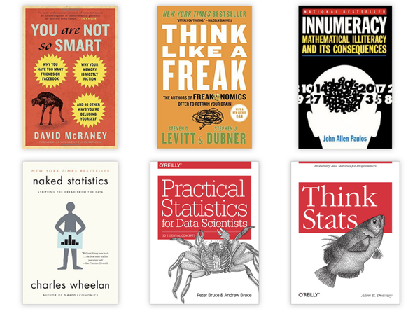 Aspiring Data Scientists: Start to learn Statistics with these 6 books!
