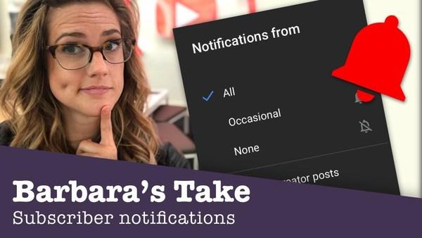 YouTube erklärt nochmal, wie die Notifications funktionieren