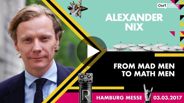 Alexander Nix, CEO, Cambridge Analytica - Online Marketing Rockstars Keynote | OMR17 - YouTube