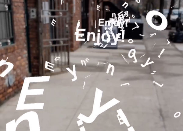 Zach Lieberman's New App Turns Type into a 3D Object