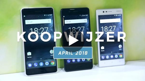 Dit zijn de beste smartphones van april 2018 -