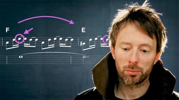 How Radiohead writes a chord progression