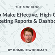 How to Make Marketing Dashboards