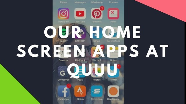 Quuu: OUR MOBILE HOME SCREEN APPS - YouTube