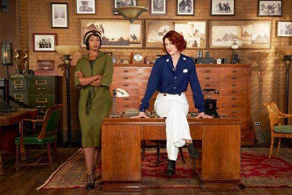 'Frankie Drake Mysteries', un entretenimiento de mujeres fuertes