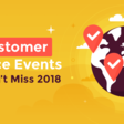 23 Global Customer Service Events You Can't Miss in 2018