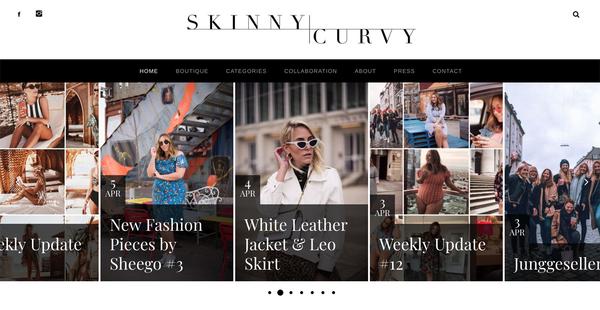 "Das Blog ""The Skinny and the Curvy One"" von Sophia und Verena"