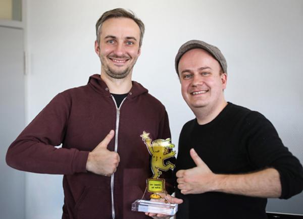 Jan Böhmermann, Der Goldene Blogger, Daniel Fiene