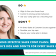 Designing Effective Sales Comp Plans: The Dos and Don'ts for Every Sales Leader | OpenView Labs