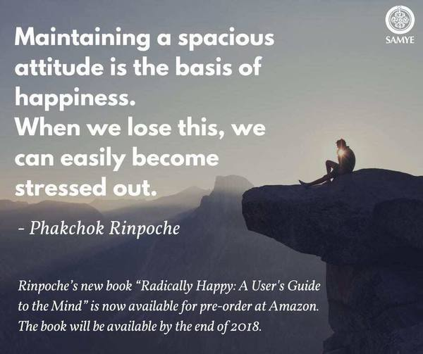 I am happy to announce that the book I... - Kyabgön Phakchok Rinpoche | Facebook