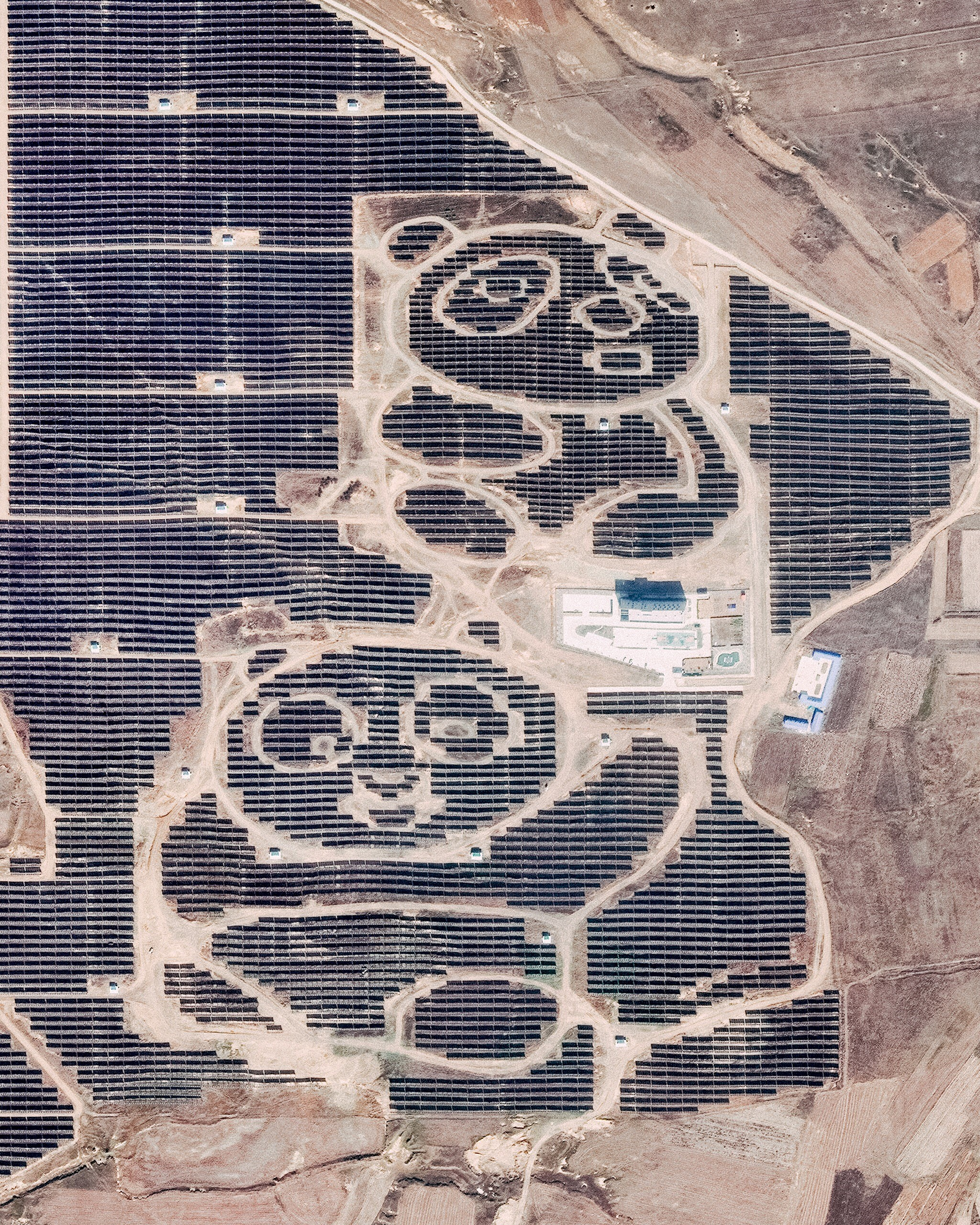 Quot Solar Pandas Quot In Datong Northern China Revue