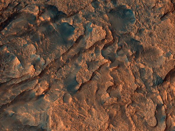 Dunes Flowing Like Martian Wine