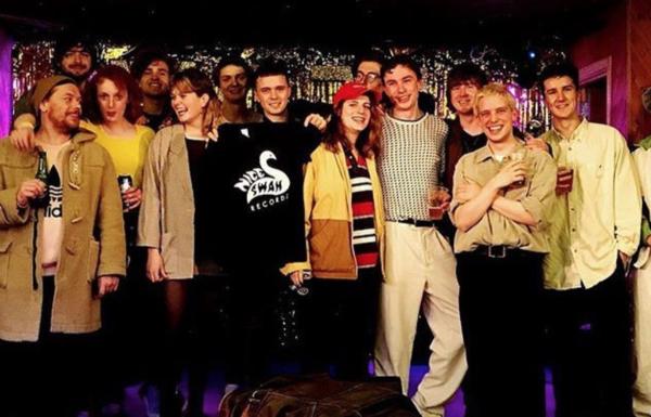 The whole Nice Swan posse!