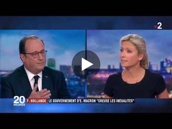 FRANÇOIS HOLLANDE DÉFEND SON BILAN SUR FRANCE 2 - YouTube
