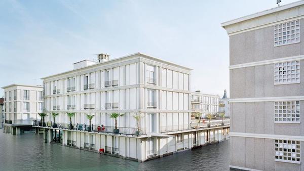 Cette ex-friche industrielle fourmille d'idées sur l'habitat de demain - Habitarium toont wonen van de toekomst