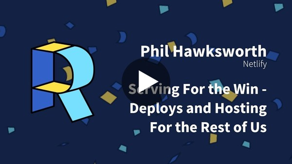 Serving for the win - Deploys and hosting for the rest of us - Phil Hawksworth | Render Conf 2018 - YouTube