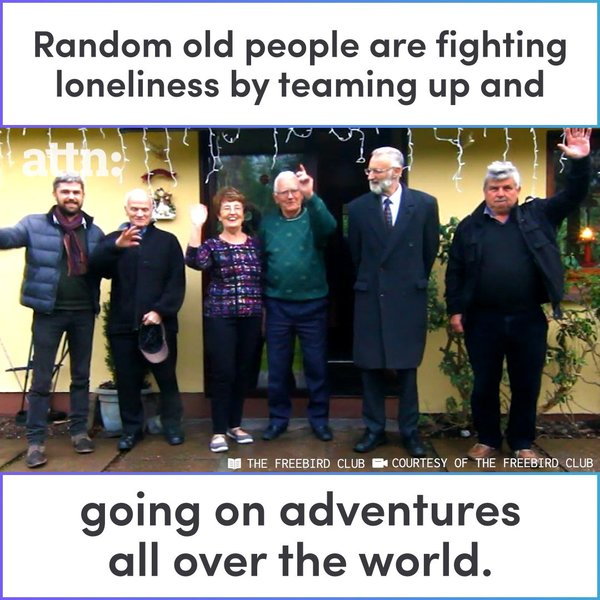 Those Poor Lonely Old People