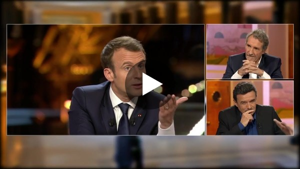 Sunday night's interview with Emmanuel Macron