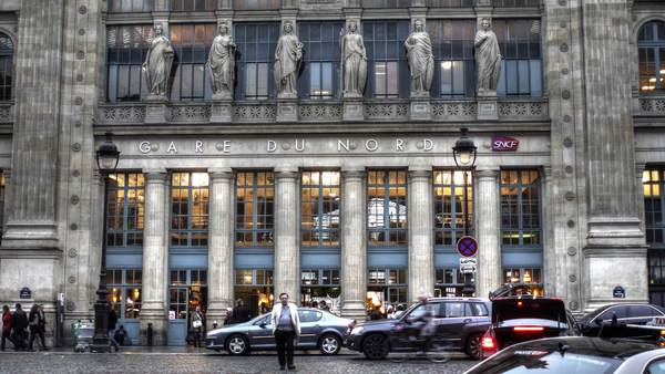 The Gare du Nord in Paris (photo: Paul Fleury)