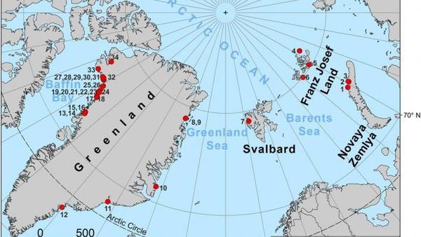 W Arktyce ubywa lodu i powstają nowe wyspy | Nauka w Polsce