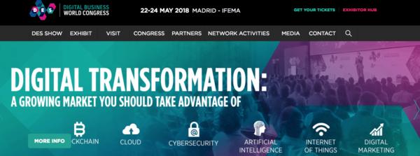 Digital Business World Congress - MAY 22-24