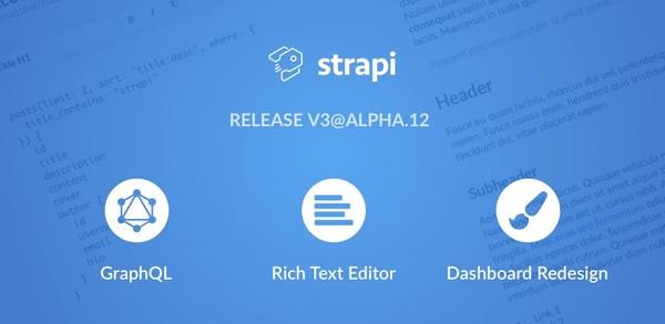 v3@alpha.12 — GraphQL, Rich Text Editor & Redesigned Dashboard 🎉
