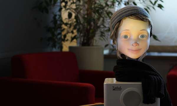 Furhat Robotics brings us non-creepy robot friends? Hmm. 🤔