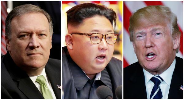 CIA-directeur Pompeo had tijdens het Paasweekeinde een geheime ontmoeting met Kim Jong-un in Pyongyang (foto: Reuters)