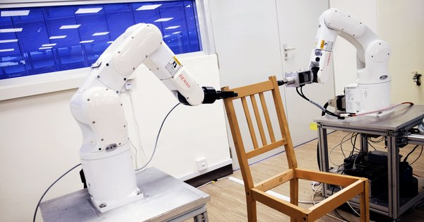 A Robot Does the Impossible: Assembling an Ikea Chair Without Having a Meltdown