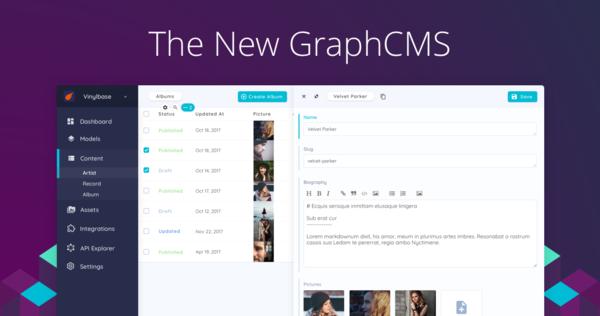GraphCMS - The New GraphCMS