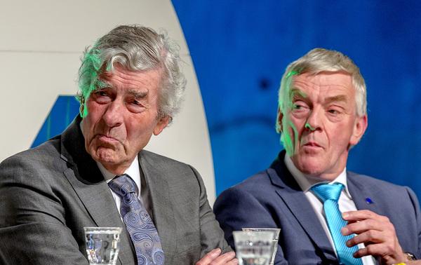 Oud-premier Ruud Lubbers en Europarlementariër Wim van de Camp